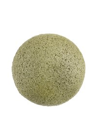 Konjac Sponge - KONJAC FACIAL SPONGE - Skincare tool - grüner tee - 2
