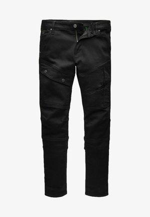 AIRBLAZE 3D SKINNY - Jeans Skinny Fit - pitch black