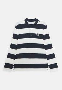 Petit Bateau - LOQUACE - Polo shirt - smoking/marshmallow - 0