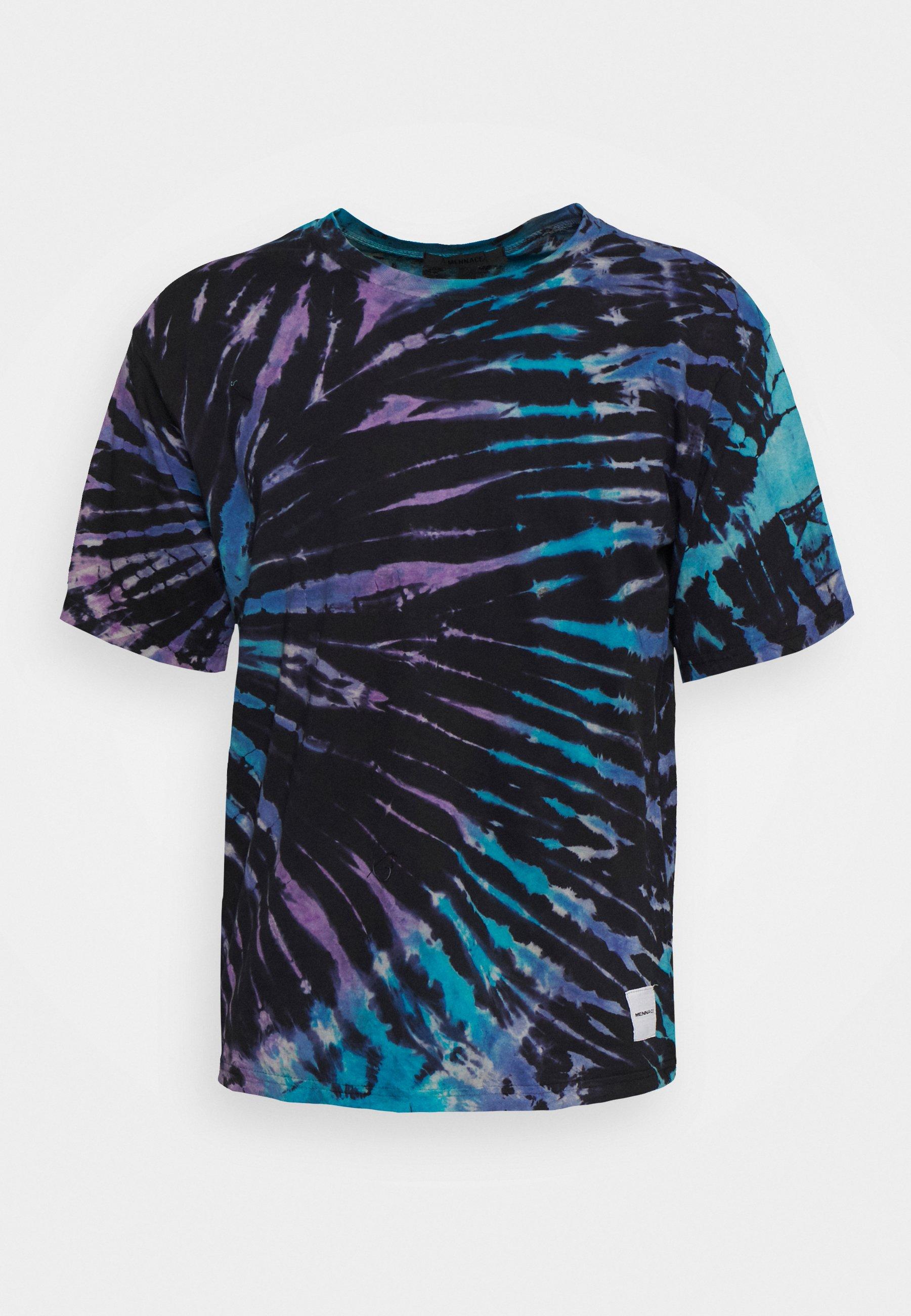 Men MENNACE SUNDAZE TIE DYE BOXY - Print T-shirt