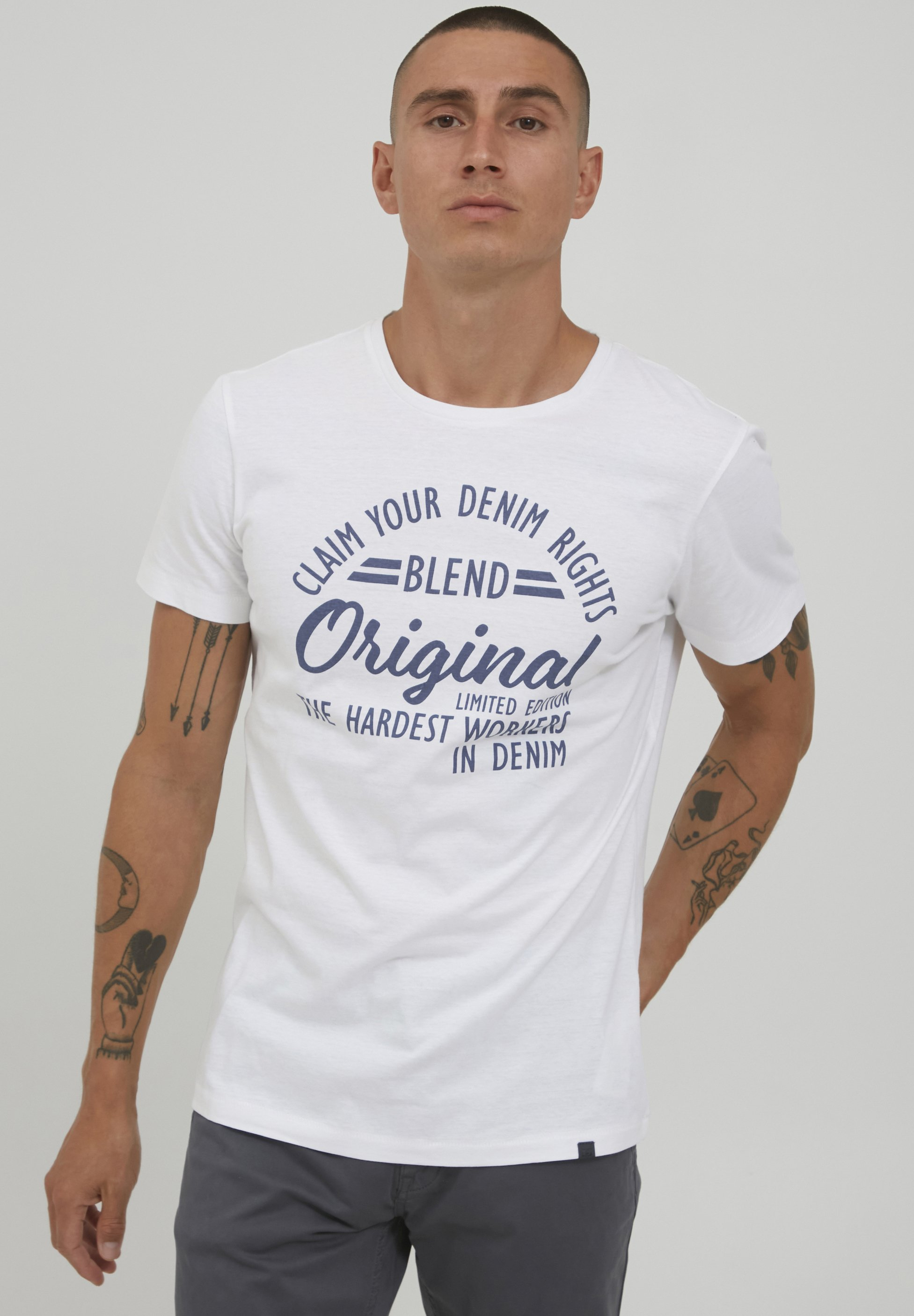 Uomo MIKE - T-shirt con stampa
