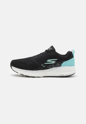 GO RUN RIDE 8 - Zapatillas de running neutras - black/turquoise