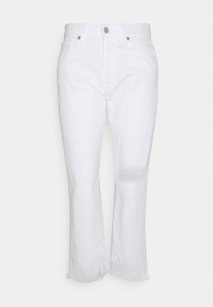 THE MODERN - Džíny Straight Fit - white