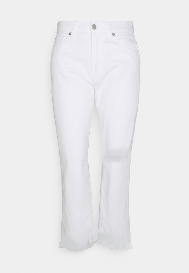 THE MODERN - Jeans a sigaretta - white