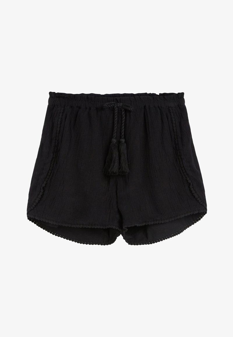 Next - BLACK TRIM DETAIL SHORTS (3-16YRS) - Shorts - black