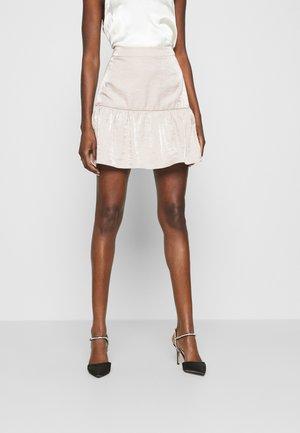 FLIPPY MINI SKIRT - Mini skirt - quartz