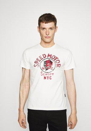 T-shirt z nadrukiem - off-white