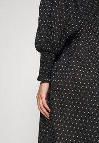Bruuns Bazaar - ASTER SMOCK DRESS - Vestito estivo - black - 6