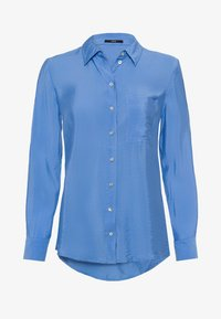 zero - Button-down blouse - viola blue - 4