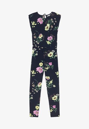 FESTIVE OVERALL - Jumpsuit - navy blue