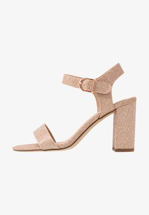 VIMS - High heeled sandals - rose gold