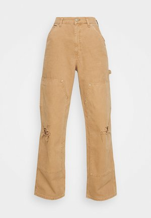 JUNO CARPENTER PANT - Trousers - tawny birch