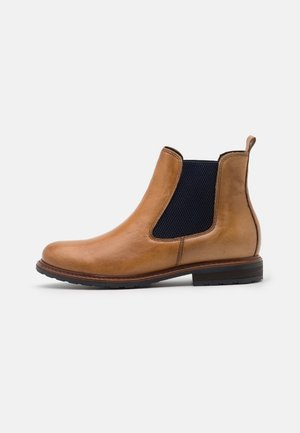 BOOTS - Classic ankle boots - nut/blue
