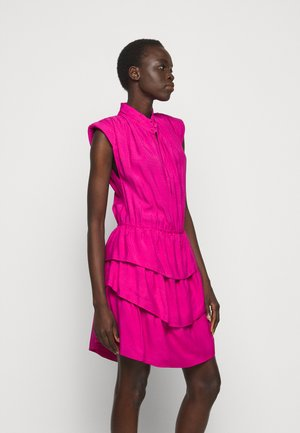 CALCIE - Day dress - fushia