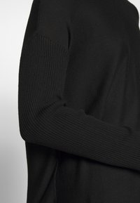 Anna Field - BASIC- RELAXED BOAT NECK JUMPER - Strikkegenser - black - 4