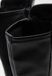 Tamaris - BOOTS - Platåstøvler - black - 5