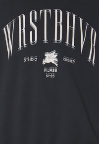 WRSTBHVR - SWEATER HORSE POWER UNISEX - Sweatshirt - black - 2
