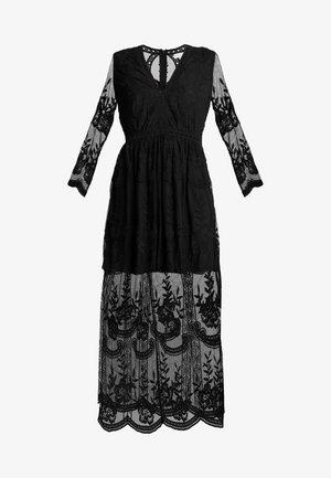 LONG SLEEVE DRESS - Maxi šaty - black