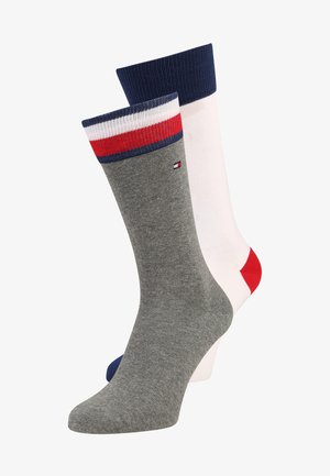 ICONIC FLAG 2 PACK - Calcetines - tommy original