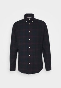 Selected Homme - SLHSLIMFLANNEL SHIRT - Shirt - dark sapphire/port royale - 4