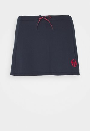 EVA SKORT - Sports skirt - navy/rougered