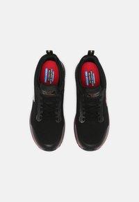 Skechers Sport - SQUAD  - Sneakers laag - black/rose gold - 4