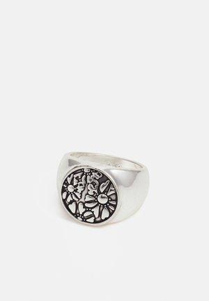 COLLECTIVE CONSCIENCE FLORAL ROUND - Anello - silver-coloured