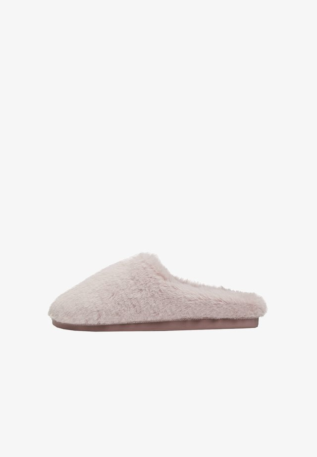 Chaussons - rose