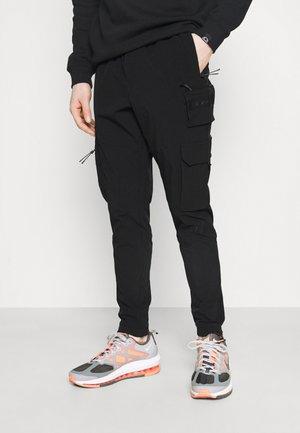 ARANOVA PANT - Pantalon cargo - black