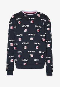 Karl Kani - Sweater - navy/white/red - 4