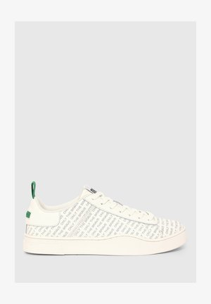 CLEVER LOW - Trainers - white/green