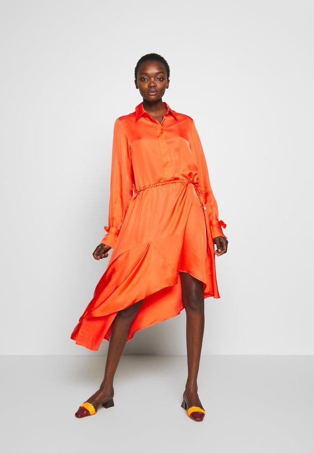KALEVA - Długa sukienka - coral