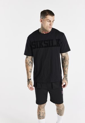 SPACE JAM FLOCK TEE UNISEX - T-shirt med print - black