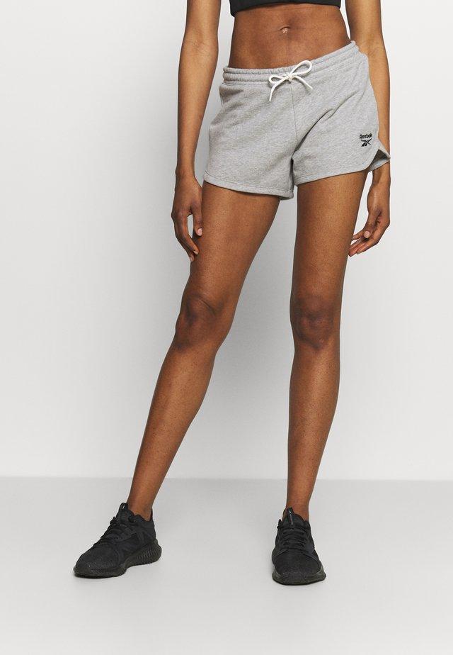 FRENCH TERRY SHORT - Pantalón corto de deporte - medium grey heather
