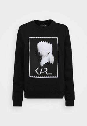 LEGEND PRINT - Sweatshirt - black