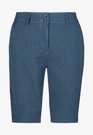 KNEE - Shorts - mottled blue
