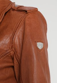 Gipsy - FAMOS - Leather jacket - cognac - 6