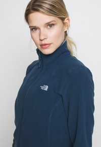 The North Face - WOMENS GLACIER FULL ZIP - Fleece jacket - blue wing teal - 4