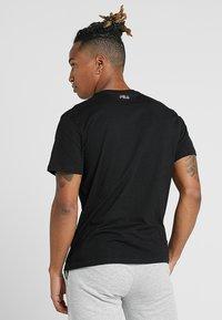 Fila - PAUL TEE - Print T-shirt - black - 2
