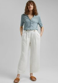 Esprit Collection - Button-down blouse - grey blue - 1