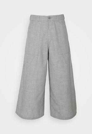 TREND PANT - Pantalon classique - agave green chambray