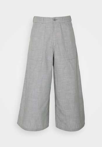 TREND PANT - Trousers - agave green chambray
