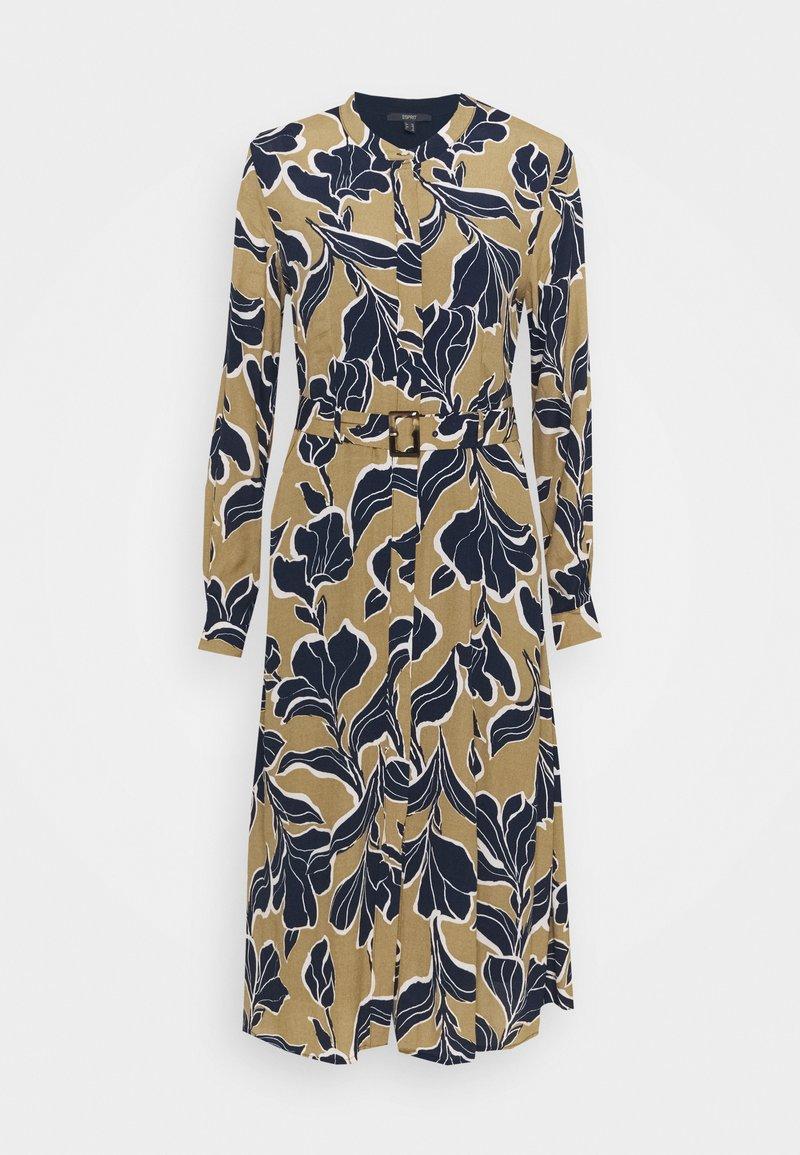Esprit Collection - DRESS 2-IN-1 - Day dress - cream beige