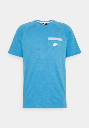 T-shirt - bas - coast armory blue/white