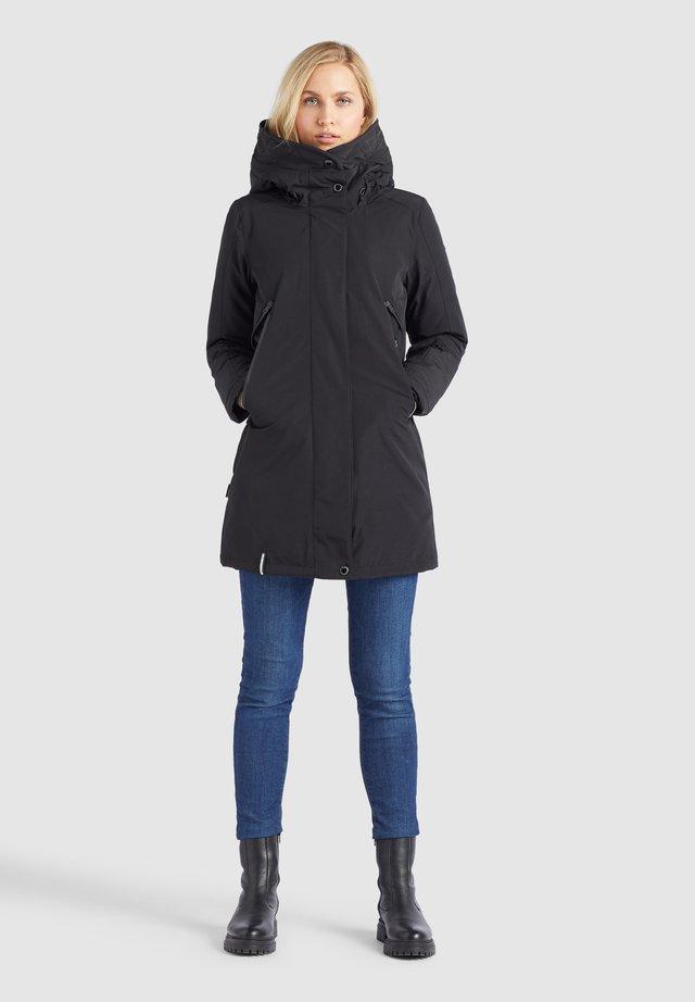 VIONA - Winter coat - schwarz
