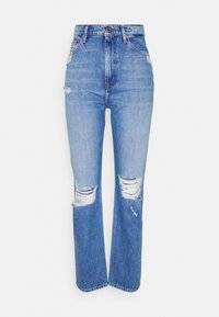 Tommy Jeans - JULIE UHR - Straight leg jeans - denim light - 4