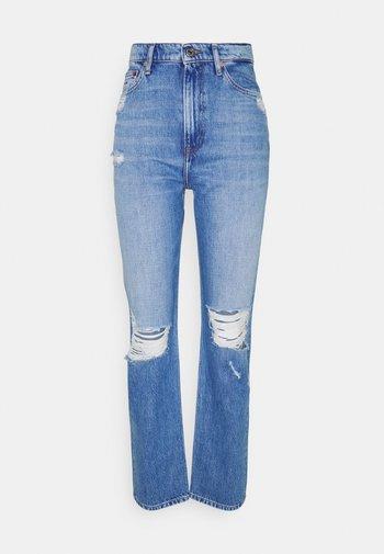 JULIE UHR - Jeans a sigaretta - denim light