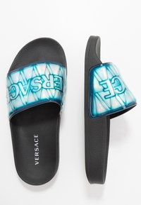 Versace - CIABATTA FASCIA  - Pool slides - sea water - 0