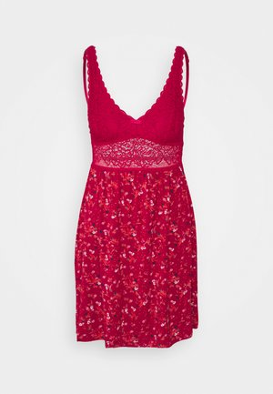 AMOURETTE SPOTLIGHT PRINT - Nightie - rosso masai