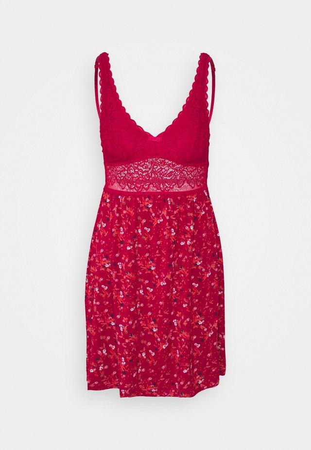 AMOURETTE SPOTLIGHT PRINT - Koszula nocna - rosso masai